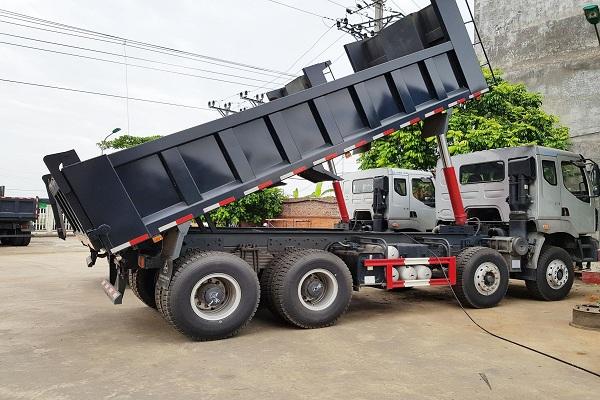 Làm sao để mua được xe ben chở đất khỏe khoắn và chất lượng?