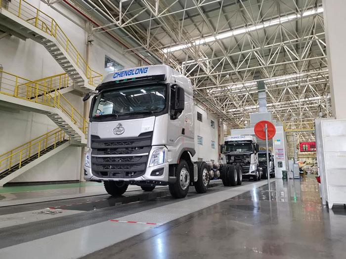 Giá xe tải Chenglong Hải Âu 2020