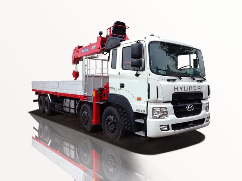 Xe tải chenglong gắn cầu CSS