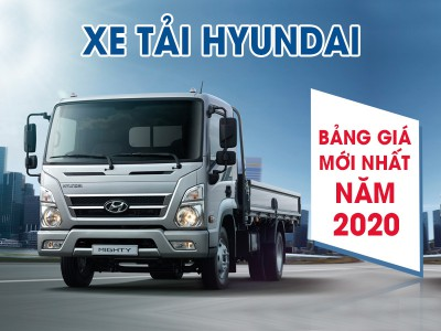 Bảng Giá Xe Tải Hyundai Năm 2021 do Xe tải Hải Âu cập nhật