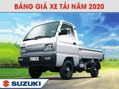 Bang Gia Xe Tai Suzuki