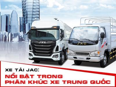 Xe Tai Jac Noi Bat Trong Phan Khuc Xe Trung Quoc