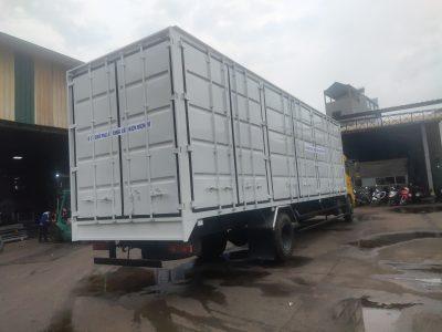 Chenglong Thùng Container Pallet Cấu Kiện điện Tử Dài 10m