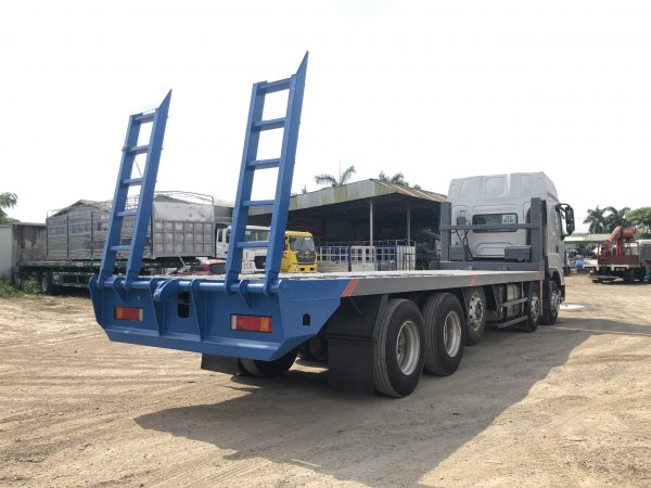 Xe Chenglong Nâng đầu Chở Máy Công Trình Sàn 9m 10x4 H7 5 Chân 888